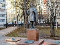 Арбат район, Спасопесковский переулок. памятник А.С. Пушкину