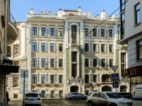Арбат район, Плотников переулок, дом 21 с.1. многоквартирный дом