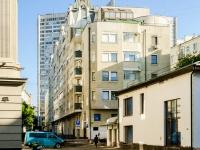 Арбат район, Малый Николопесковский переулок, дом 4. многоквартирный дом