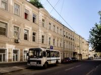 Арбат район, Большой Афанасьевский переулок, дом 22. многоквартирный дом