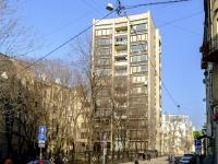 Арбат район, Большой Афанасьевский переулок, дом 25. многоквартирный дом