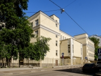 Арбат район, Большой Афанасьевский переулок, дом 27 с.1. школа №1231 им. В.Д. Поленова