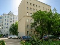 Арбат район, Большой Афанасьевский переулок, дом 31. многоквартирный дом