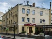 Арбат район, Староваганьковский переулок, дом 19. гостиница (отель)