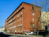Basmanny district, st Kazakov, house 29 с.1. Apartment house