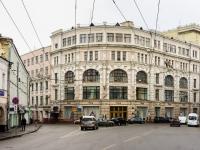 Басманный район, улица Мясницкая, дом 8. многофункциональное здание