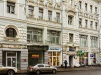 Басманный район, улица Мясницкая, дом 18. многофункциональное здание