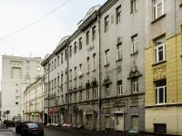 Басманный район, улица Мясницкая, дом 32/1СТР22А. многоквартирный дом