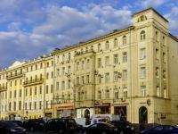 Басманный район, улица Садовая-Черногрязская, дом 3А. офисное здание
