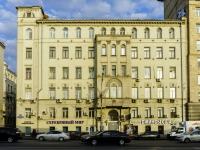 Басманный район, улица Садовая-Черногрязская, дом 3Б. многоквартирный дом