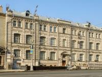 Басманный район, улица Садовая-Черногрязская, дом 4. офисное здание