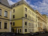 Басманный район, Яковоапостольский переулок, дом 7 с.1. многоквартирный дом