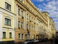 Басманный район, Яковоапостольский переулок, дом 9 с.1. многоквартирный дом