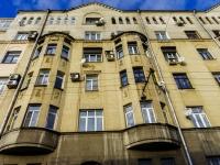 Басманный район, Яковоапостольский переулок, дом 11/13. многоквартирный дом