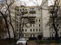 Басманный район, Яковоапостольский переулок, дом 15. многоквартирный дом