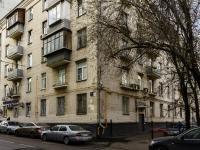 Басманный район, Яковоапостольский переулок, дом 17. многоквартирный дом