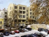 Басманный район, Большой Спасоглинищевский переулок, дом 8. многоквартирный дом