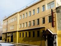 Басманный район, Большой Спасоглинищевский переулок, дом 9/1. многофункциональное здание