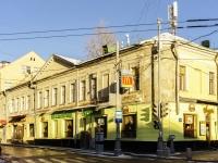 Басманный район, Большой Спасоглинищевский переулок, дом 9. многофункциональное здание