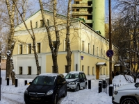 Басманный район, Большой Спасоглинищевский переулок, дом 9/1СТР7. офисное здание