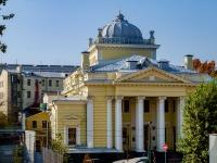 Басманный район, Большой Спасоглинищевский переулок, дом 10 с.1. синагога Московская Хоральная Синагога