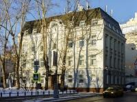 Басманный район, Потаповский переулок, дом 16. многоквартирный дом