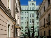 Басманный район, Потаповский переулок, дом 5 с.4. офисное здание