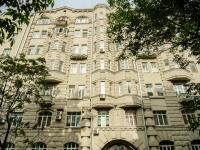 Басманный район, Потаповский переулок, дом 10. многоквартирный дом