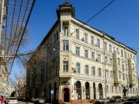Басманный район, Армянский переулок, дом 1/8СТР1. многоквартирный дом