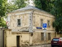 Басманный район, Архангельский переулок, дом 4 с.2. неиспользуемое здание