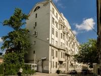 Басманный район, Архангельский переулок, дом 7 с.1. многоквартирный дом