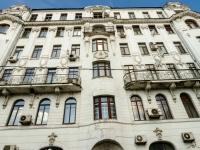 Басманный район, Архангельский переулок, дом 9. многоквартирный дом