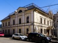Басманный район, Архангельский переулок, дом 10А. офисное здание