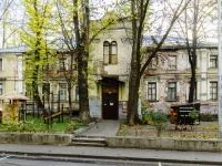 Басманный район, Кривоколенный переулок, дом 10 с.1. многоквартирный дом