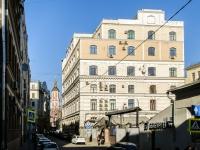 Басманный район, Кривоколенный переулок, дом 12 с.1. офисное здание