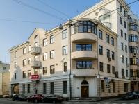 Басманный район, Большой Харитоньевский переулок, дом 16-18. многоквартирный дом