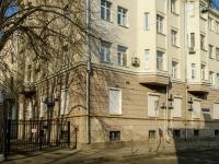 Басманный район, Малый Козловский переулок, дом 6. многоквартирный дом