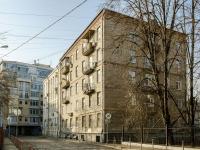Басманный район, Малый Козловский переулок, дом 10. многоквартирный дом