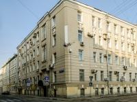 Басманный район, Малый Козловский переулок, дом 12. офисное здание