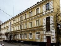 Басманный район, улица Макаренко, дом 4 с.2. многоквартирный дом