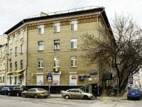 Басманный район, улица Макаренко, дом 9 с.2. многоквартирный дом