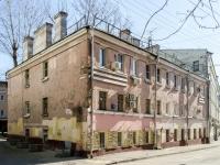 Басманный район, Малый Златоустинский переулок, дом 8 с.1. многоквартирный дом