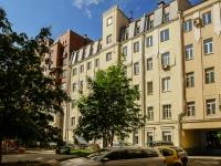 Басманный район, Фурманный переулок, дом 16 с.3. многоквартирный дом