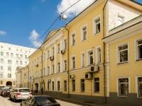 Басманный район, Сверчков переулок, дом 4/1СТР1. офисное здание