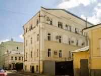 Басманный район, Сверчков переулок, дом 8 с.2. офисное здание