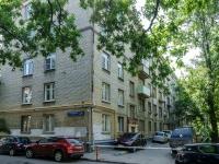 Басманный район, улица Хомутовский тупик, дом 4 к.1. многоквартирный дом