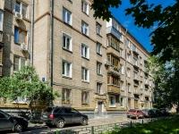 Басманный район, улица Хомутовский тупик, дом 4 к.2. многоквартирный дом