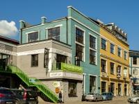 Басманный район, улица Нижняя Сыромятническая, дом 10 с.7. многофункциональное здание