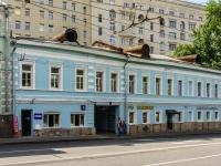 Басманный район, улица Спартаковская, дом 8. многофункциональное здание