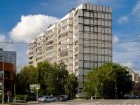 Басманный район, Волховский переулок, дом 2. многоквартирный дом